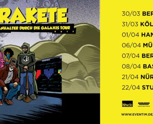 Johnny Rakete-Tour