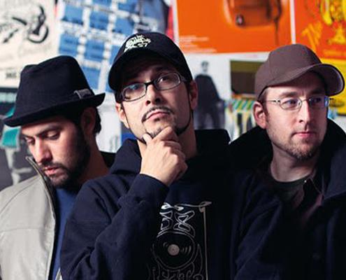 Band von Main Concept mit DJ Explizit, David Pe und Glam